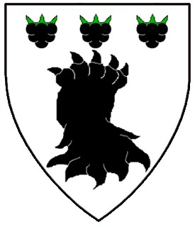 Arms of Morael Black Stag